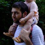 frischgebackener Vater